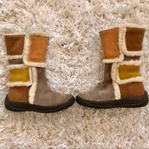 Toddler girl  suede boots